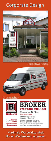 Corporate Design - Grafikservice Schönherr, Höxter